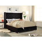 Aiden Black Queen Bed Room scene