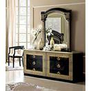 ESF_Aida Black w/ Gold Double Dresser