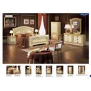 ESF_Aida Ivory w/ Gold Queen Bed