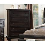 The Begonia Collection Dark Grey 1718GY-9 Chest