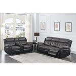Saybrook Charcoal Tufted Cushion Power Reclining-4