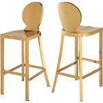 Maddox Gold Stainless Steel Bar Stool - 2