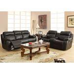 9724BLK-3 Marille Reclining Sofa - 2