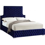 Sedona Navy Tufted Bed