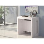 Erika Extendable White Console/Dining Table - 2