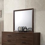 Brandon Warm Brown Rectangle Framed Mirror 20532-2