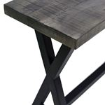Zax Console Table 502-147GY - 4