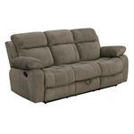 Myleene Mocha Recliner Sofa with Drop Down Table-2