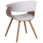 Holt Light Grey Arm Chair 403-981GY-2