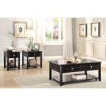 Carrier Dark Espresso Lift Top Coffee Table 3257-2