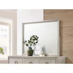 Salford Metallic Sterling Rectangular Mirror 222-2