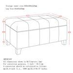 Bella Storage Ottoman 402-449 - 2