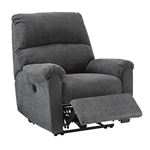 7591006 McTeer Recliner Charcoal Open