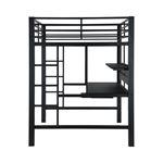 Coaster Avalon Full Workstation Loft Bed 460023 3