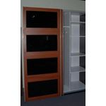 ACE Irbis Dark Oak Wardrobe inside3