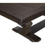 Southlake Double Pedestal Trestle Dining Table 5741-94 Detail