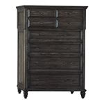 Avenue Weathered Burnished Brown 8 Drawer Chest-2