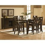 Crown Point Counter Height Dining Room Collection