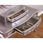 Caroline Metallic Lilac Vanity Mirror 400897-2