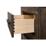 Woodmont Rustic Golden Brown 2 Drawer Nightstand-2