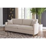 Corliss Beige Fabric Sofa with Arched Arms 50882-2