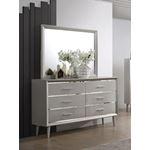 Ramon Metallic Sterling Mirror 222704-4
