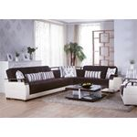 Natural Colins Brown Sectional