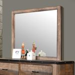 Sembene Antique Multi-Color Rectangular Mirror 2-2