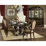 Russian Hill Double Pedestal Dining Table 1808-112 in Set