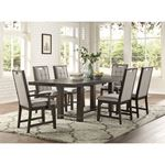 Rathdrum Double Pedestal Trestle Dining Table 5654-92 in Set