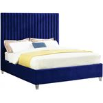 Candace Navy Platform Bed