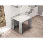 Elasto Gray Console/Dining Table - 4