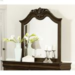 Mont Belvieu Cherry Finish Arched Mirror 1869-6 by Homelegance in room