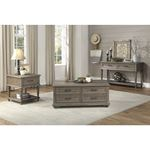 Cardano Driftwood Brown Trunk Style Coffee Table-4