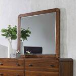 Robyn Dark Walnut Rectangular Mirror 205134-4