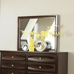 Jaxson Cappuccino Rectangular Mirror 203484-2