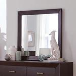 Kauffman Dark Cocoa Rectangular Mirror 204394-4