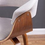 Holt Light Grey Arm Chair 403-981GY-4