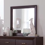 Kauffman Dark Cocoa Rectangular Mirror 204394-2