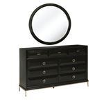 Formosa Round Dresser Mirror Americano 222824-4