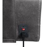Wixom Charcoal Power Reclining Sofa 603514PP Plug