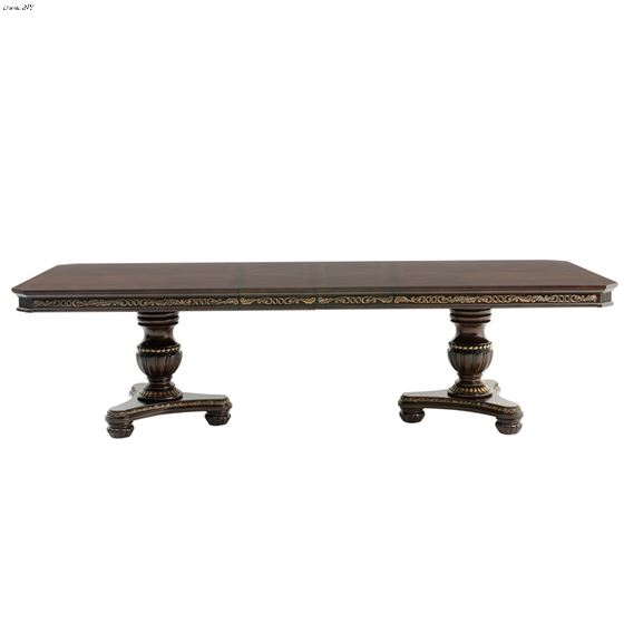 Russian Hill Double Pedestal Dining Table 1808-112 side