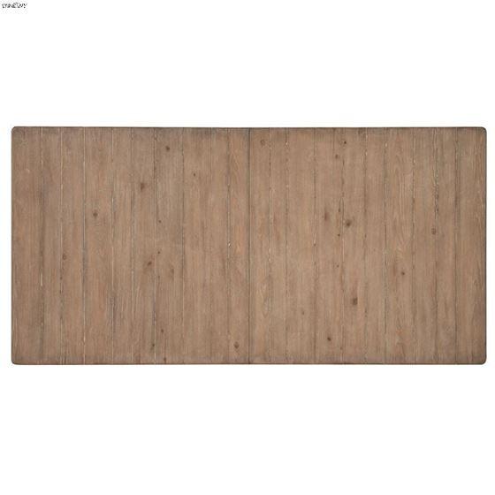 Monteverdi Sun Bleached Cypress Solid Wood Rectangular Trestle Table 2