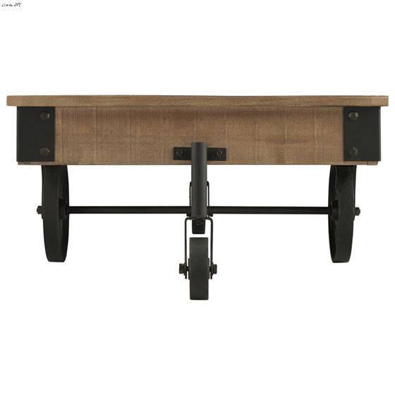Factory Collection Industrial Style Coffee Table-4