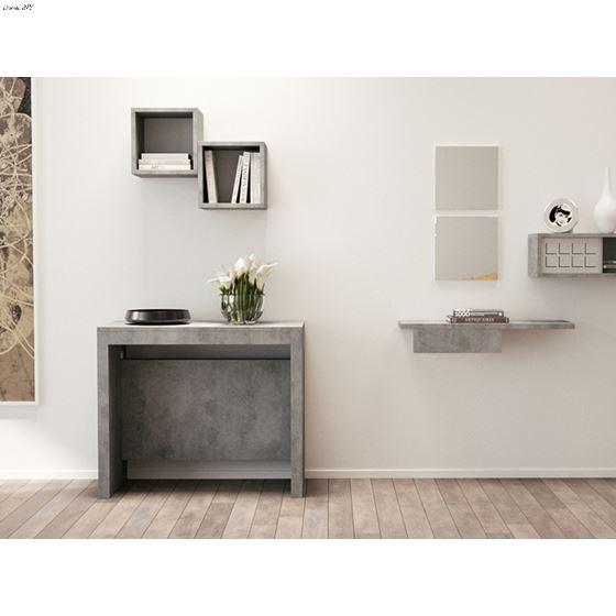 Elasto Gray Console/Dining Table - 2