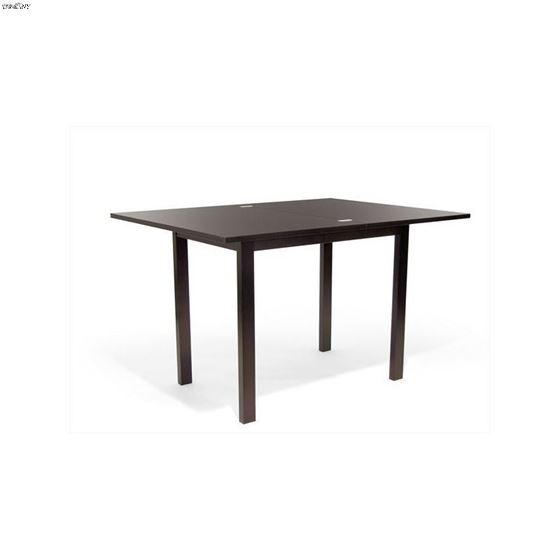 Flex Extendible Rich Coffee Dining Table 6796 By Aeon Furniture