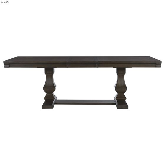 Southlake Double Pedestal Trestle Dining Table 5741-94 Front