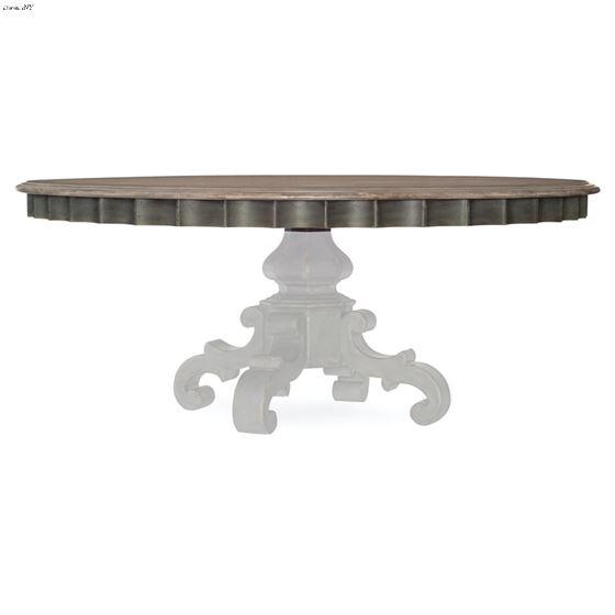 Arabella 72 Inch Round Pedestal Dining Table-4