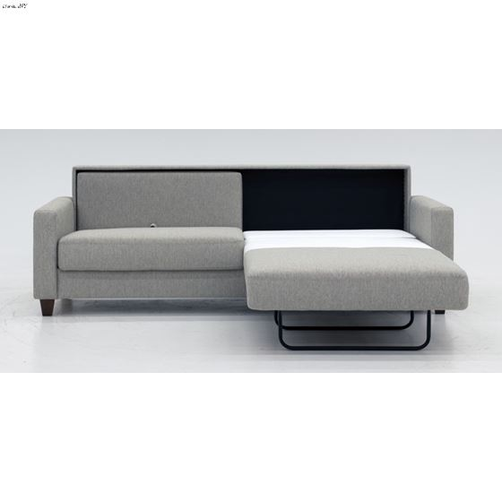 Nico King Size Sofa Sleeper in Fabric Open 2