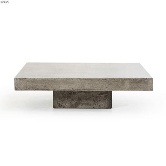 Morley Modern Concrete Coffee Table-2